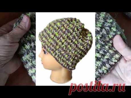 Приближаются холода, показываю мои новые вязаные изделия - шапку-трансформер и свитер