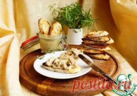 Печеночный паштет от Евгения Клопотенко – кулинарный рецепт