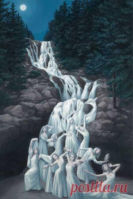 Творчество канадского художника Роба Гонсалвеса