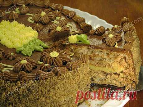 Киевский торт рецепт с фото   Рецепты украинской кухни   Кашевар