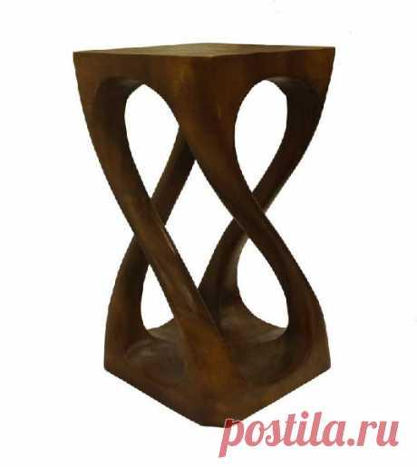 Тумбы и подставки - Витая подставка под цветы, h=51см с гарантией. Интернет магазин Настольные наборы.ру и подарки.
