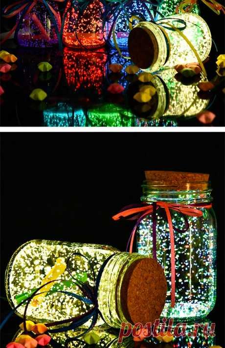 10 г/пакет, цветной светильник, флуоресцентная пудра, светящиеся гранулы, сделай сам, бутылка желаний, светящийся песок, свадебные украшения, вечерние принадлежности|Сверкающие товары для вечеринки| | АлиЭкспресс