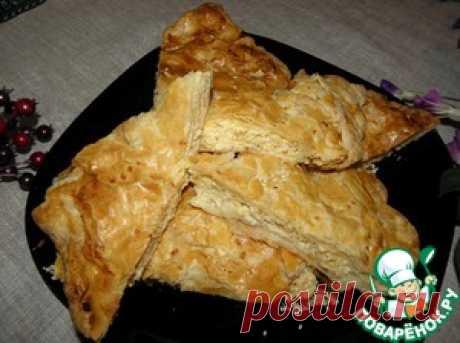 """Сырный пирог """"Взрыв из сыра"""" - кулинарный рецепт"""