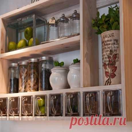 Расставляем пряности: идеи для хранения специй на кухне.
