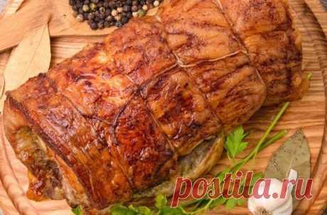 Рулет из свиной рульки - рецепт с фото / Простые рецепты