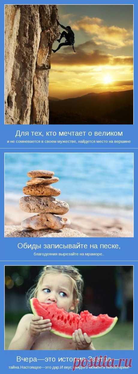 The life should be arranged until it does not begin suit you.\u000d\u000aKind motivator about life