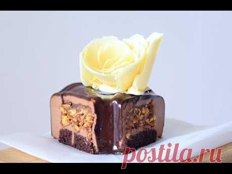 Mussovy chocolate Praline \/ Mousse Chocolate Praline cake cake