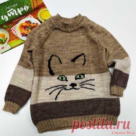 Детский свитерок из остатков пряжи от АРИЯ7