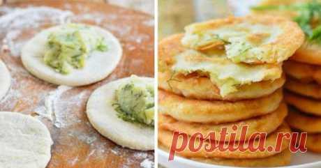 Пирожки с картошкой на кефире. Особенный рецепт | Кулинарушка - Вкусные Рецепты