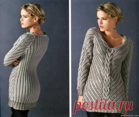 вязаный пуловер, вязание, модели, MirPiar.com - Форум