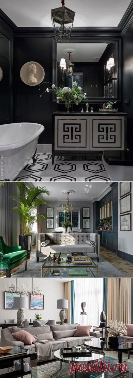 Квартира в Москве: проект дизайнера Катерины Лашмановой для семьи с двумя детьми | Admagazine | AD Magazine