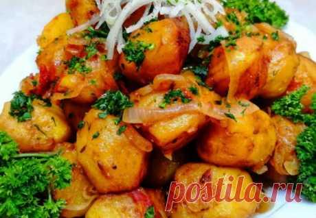 Картошка по-ташкентски за 40 минут: домашние просят по две тарелки