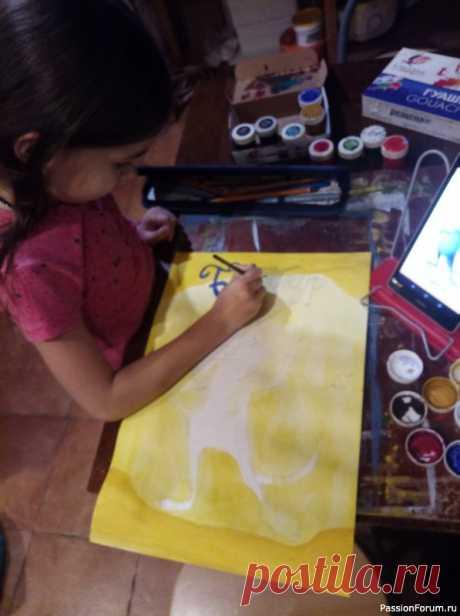 Бедокур | Детское творчество