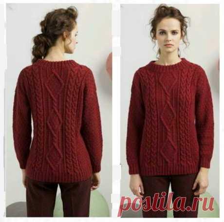 6 моделей теплых свитеров и пуловеров для холодной зимы   Дневник рукодельницы   Яндекс Дзен