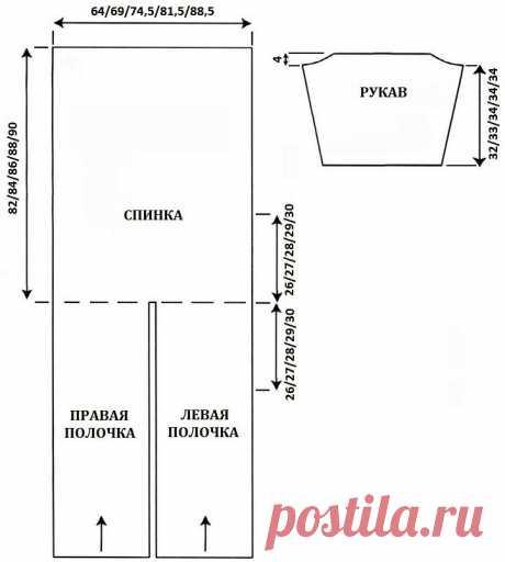 Красивый ажурный кардиган для худеньких и пышных дам (с описанием) | Идеи рукоделия | Яндекс Дзен