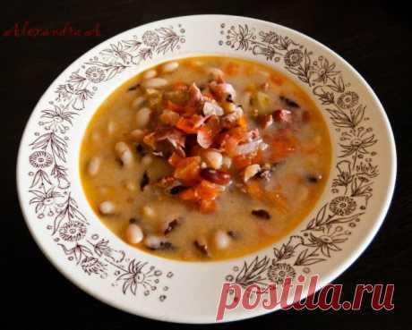 Суп из фасоли | Русская кухня