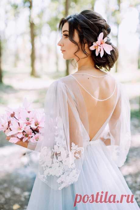 Букет невесты и украшение в прическу из полимерной глины  Заказать можно тут: https://vk.com/ann__si