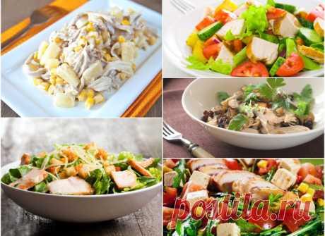 Салаты с курицей: ТОП-5 популярных рецептов - tochka.net
