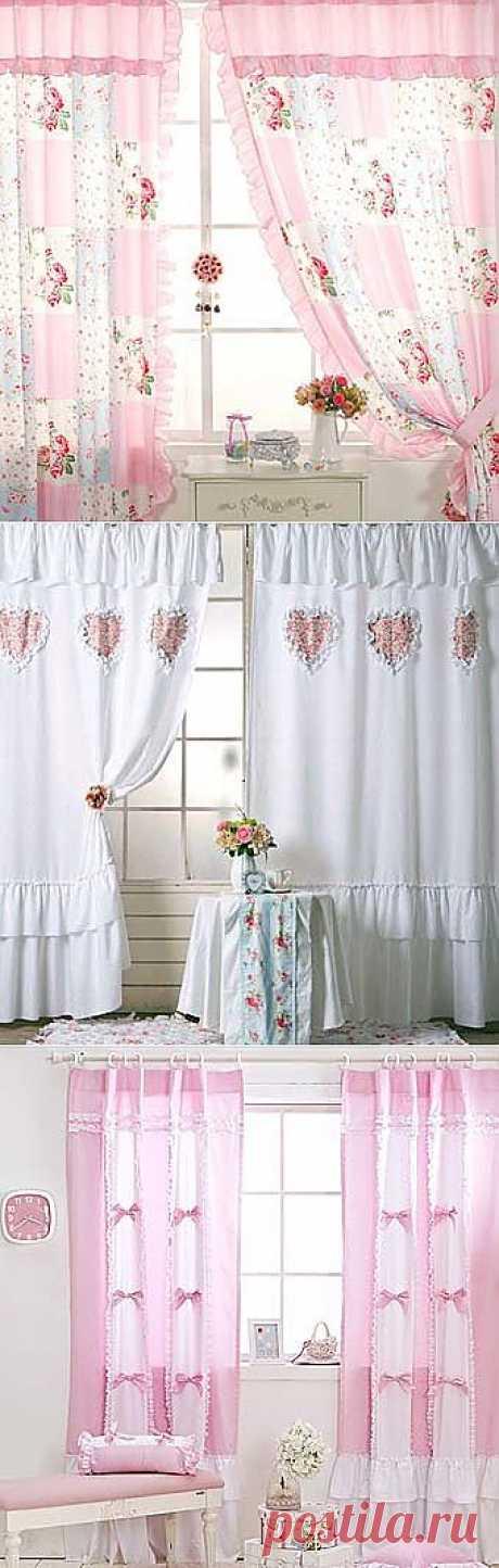 Сам себе дизайнер: комбинируем ткани для штор