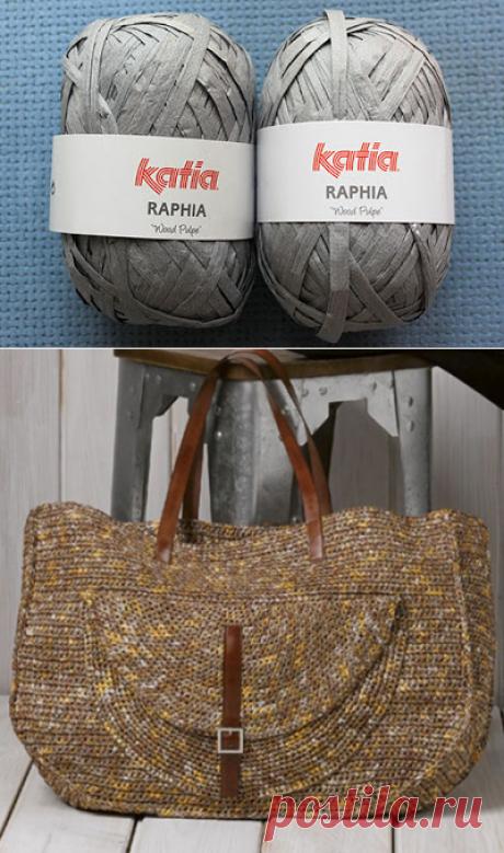 Вяжем вместе: Пряжа Katia Raphia