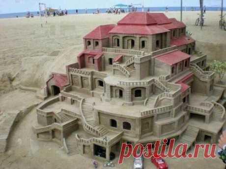 El castillo de la arena.