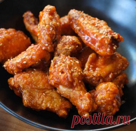 Курица по-корейски — круче, чем в ресторане + секретная обжарка | Офигенная