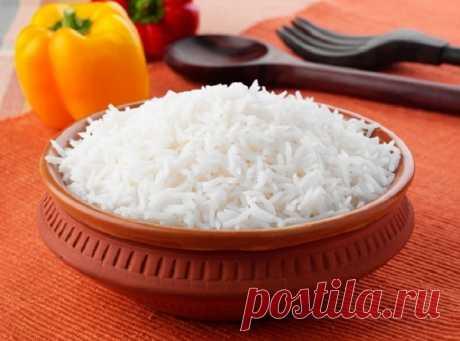 Как приготовить здоровый белый рис - простой трюк, который вы не знали - Счастливые заметки