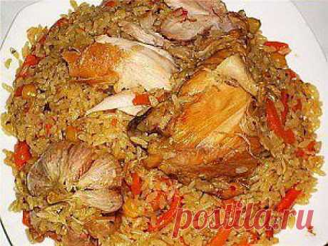 Узбекский плов с курицей | Тут еда и лучшие рецепты