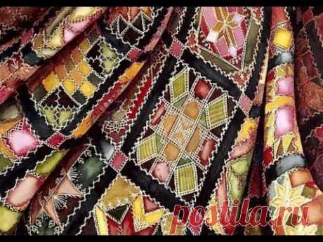 Лоскутные жакеты - лучшее и полезное использование разных лоскутков ткани. Подборка для вдохновения.