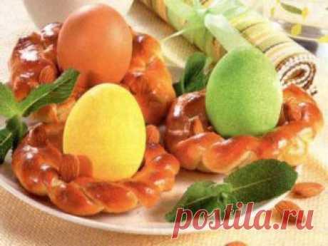Пасхальные веночки | готовим вкусно | Яндекс Дзен