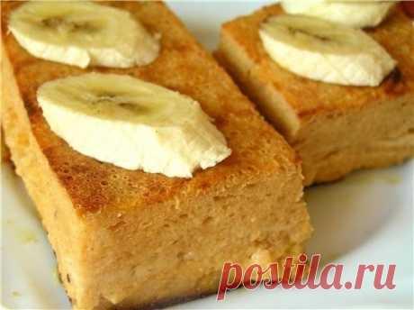 Творожно-банановая запеканка — Мегаздоров