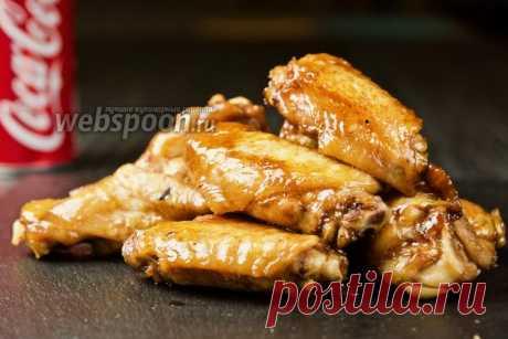 Курица в Кока-Коле - видео-рецепт в домашних условиях на Webspoon.ru