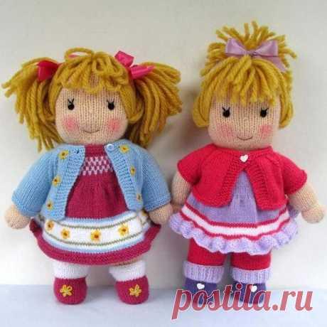 Вяжем кукол спицами: пошаговое описание для начинающих В настоящее время вязаные игрушки пользуются огромной популярностью. Причем устоять перед красавицами трудно не только малышам, но и взрослым. Однако просто захотеть сделать подобную вещь недостаточно...