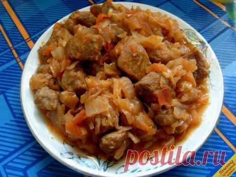Солянка из капусты с мясом (пошаговый рецепт с фото)