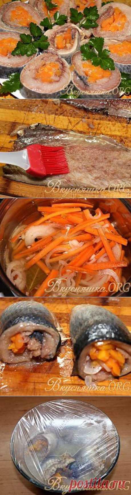Рольмопсы из сельди. Рецепт с фото