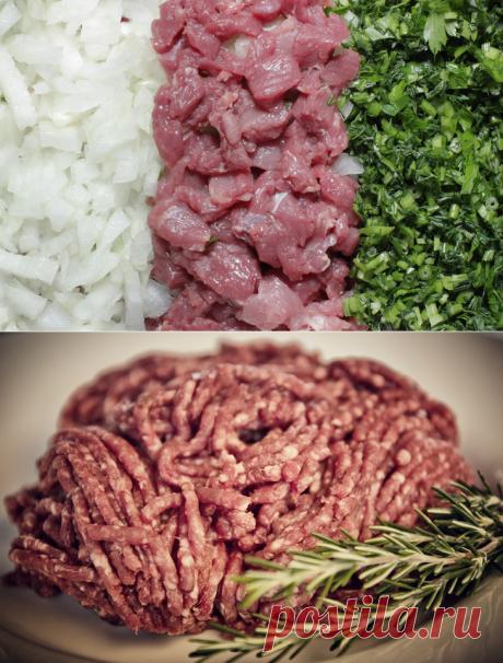 Как приготовить идеальный мясной фарш