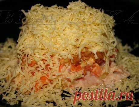 """Салат """"Сугроб здоровья"""" – кулинарный рецепт"""
