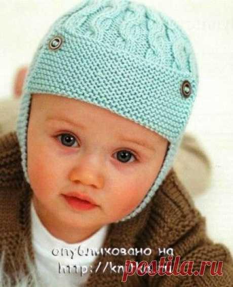 Детская шапка с ушками, 24 модели с описанием и видео уроками, Вязание для детей
