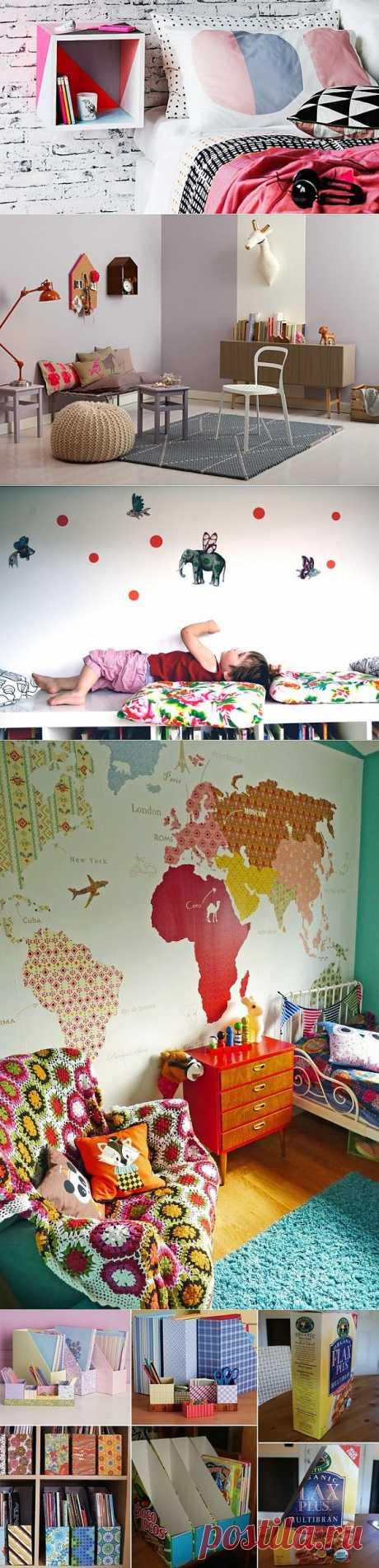 """Детская комната / """"Вторая улица"""" - мода и интерьер своими руками!"""