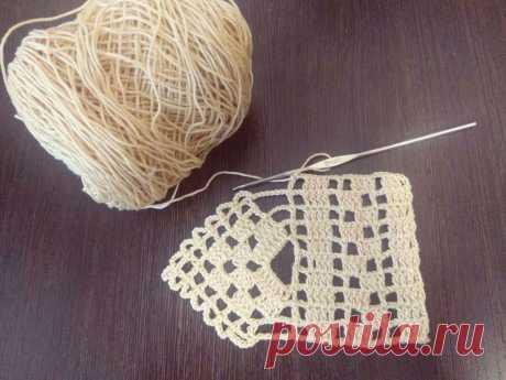 Филейное вязание. Как убавлять пустые и полные клетки. Подборка схем филейного кружева