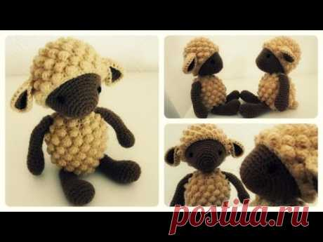 Häkelschaf Teil 1/2 * Tutorial * Crochet Sheep [eng sub]