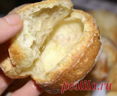 Popovera (popovers) empty rolls the recipe with photos