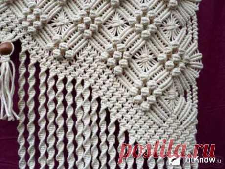 Плетение макраме для новичков