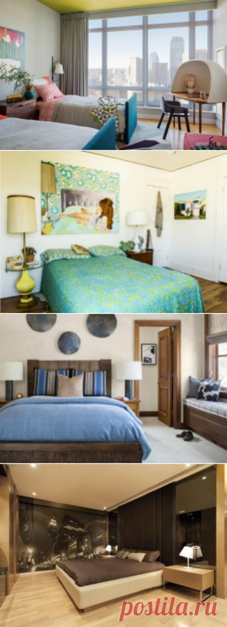 100 лучших идей дизайна для спальни | Интерьер комнат на фото
