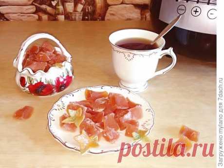 Цукаты из тыквы вместо конфет — отличный способ накормить витаминами малыша и побаловать домашних! Готовим в мультиварке