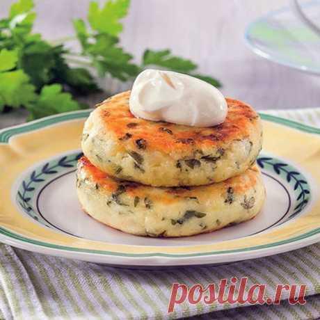 Сырники с зеленью, чесноком и сыром - пошаговые рецепты с фото на povarenok.by