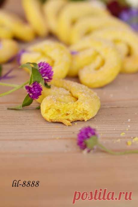 Печенье на желтках.