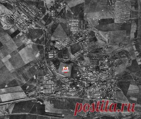 Немецкая аэрофотосъемка г.Донской (1941 г)  Источник: NARA, RG 373