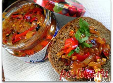 Деликатес из острого перца с луком - Рецепт с пошаговыми фотографиями - Ням.ру