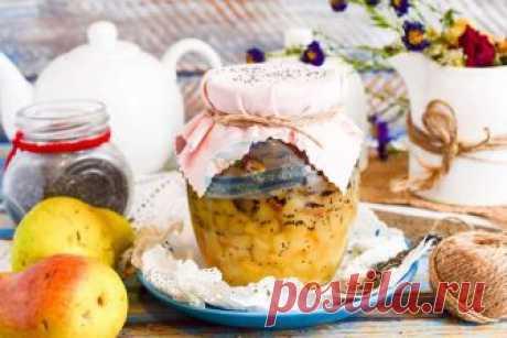 Оригинальный рецепт варенья из груш с маком с фото пошагово